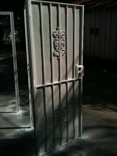 Ornamental Security Screen Doors : Security screen doors ornamental iron